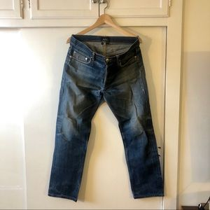 APC Sz 29 Men's Straight Leg Jeans Broken In